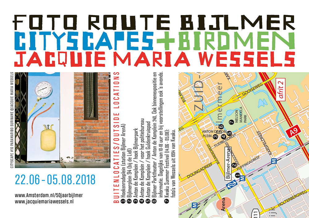 photo route bijlmer Jacquie Maria Wessels